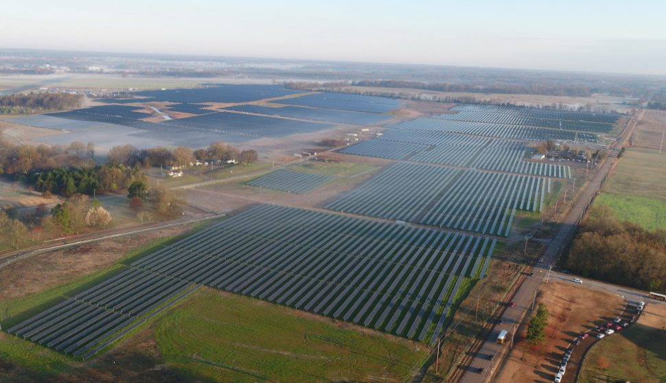 Tennessee's Largest Solar Farm Is Now Operational at Millington Naval Facility