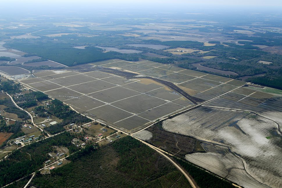 Jeff David County Hazelhurst, Georgia solar farm expansion
