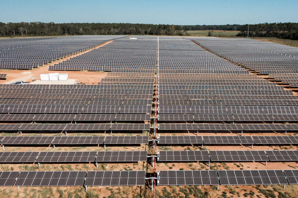 Bancroft Station Solar Farm, Georgia (Tomlinson Marketing Group/Silicon Ranch)